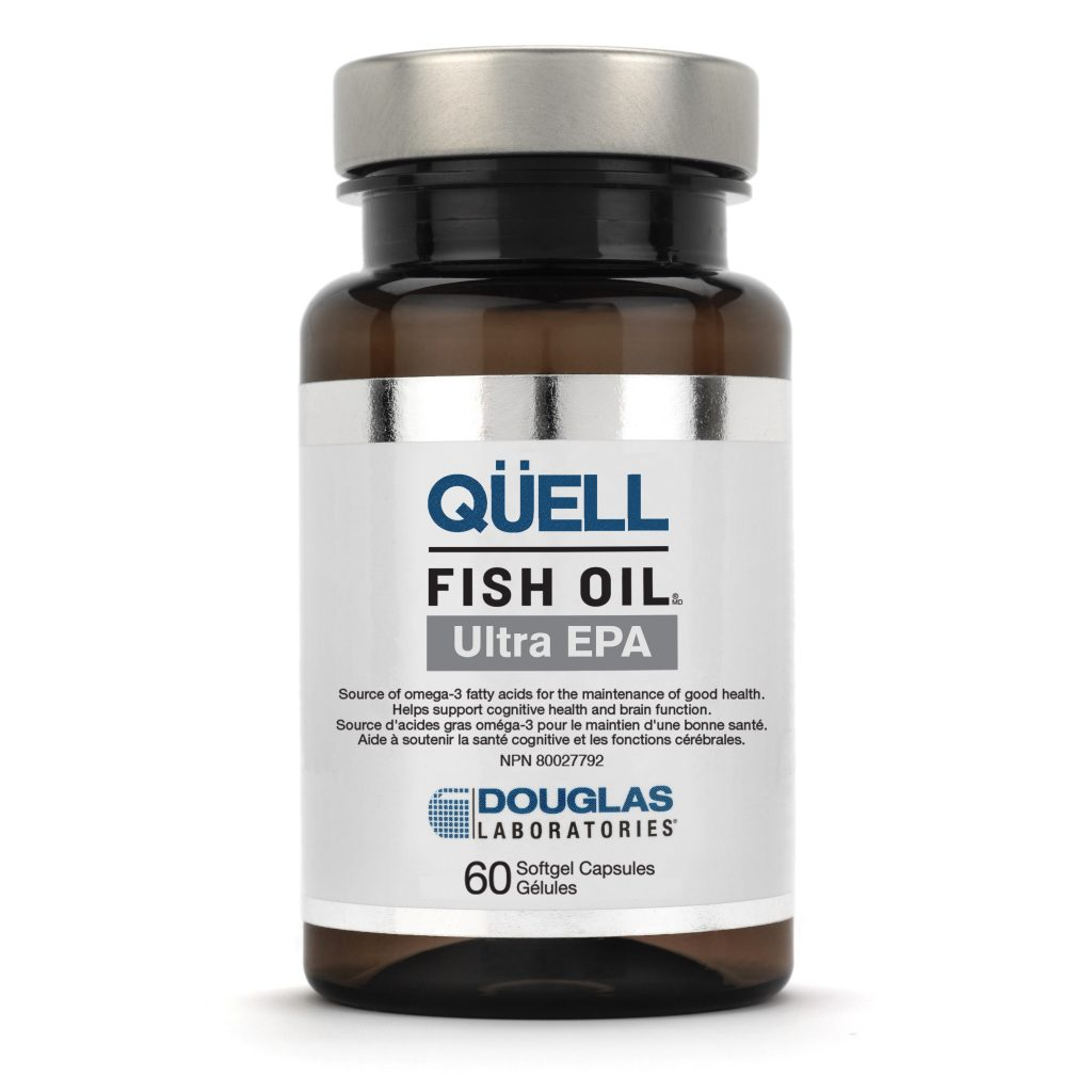 Quell fish oil ultra epa 60 softgels douglas labs vitepro for Innate choice fish oil