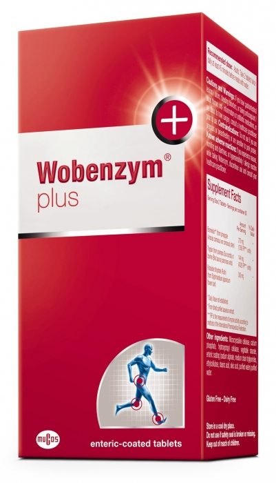 Wobenzym Plus 240 Tablets Vitepro